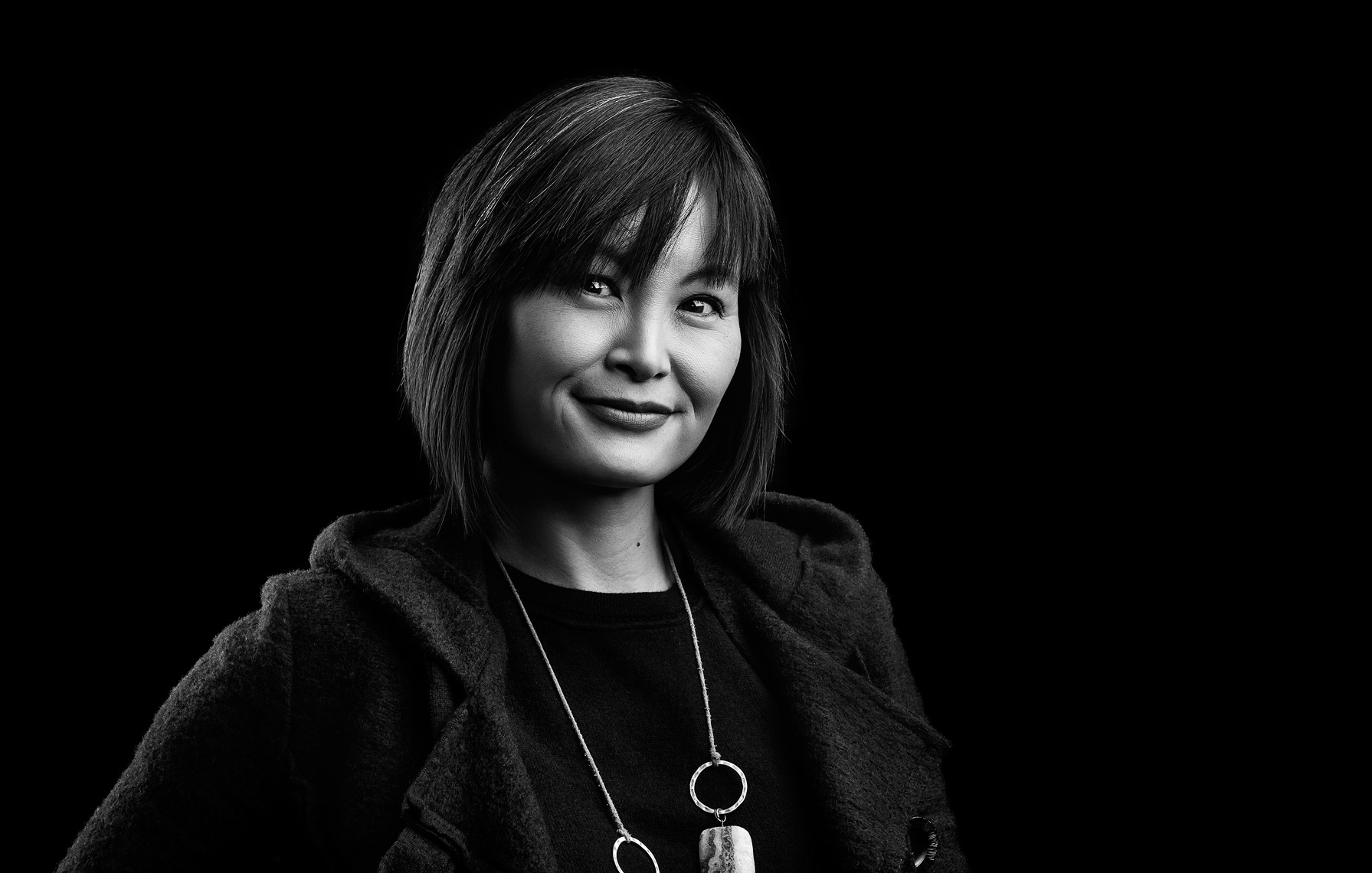 Black and White portraits of CXO employees
