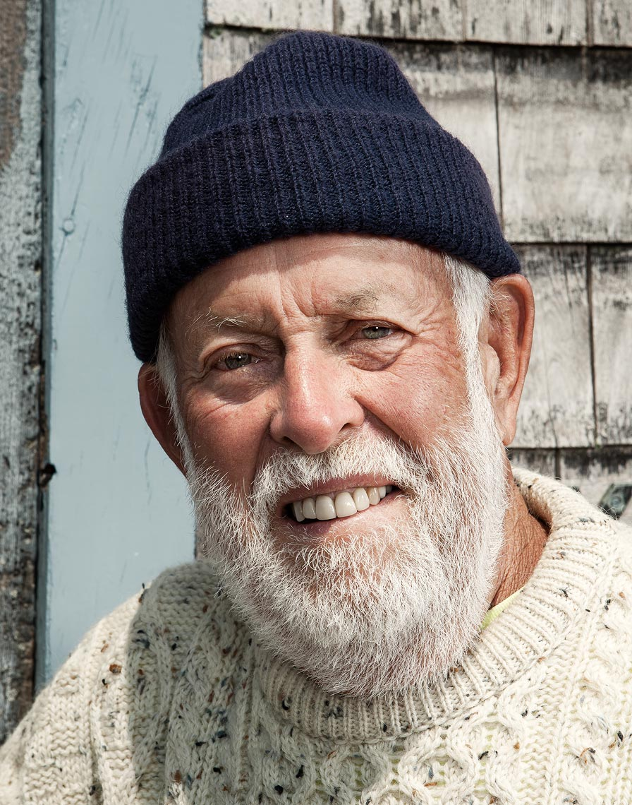 Portraits of Rockport MA fishermen and lobstermen for Canon USA