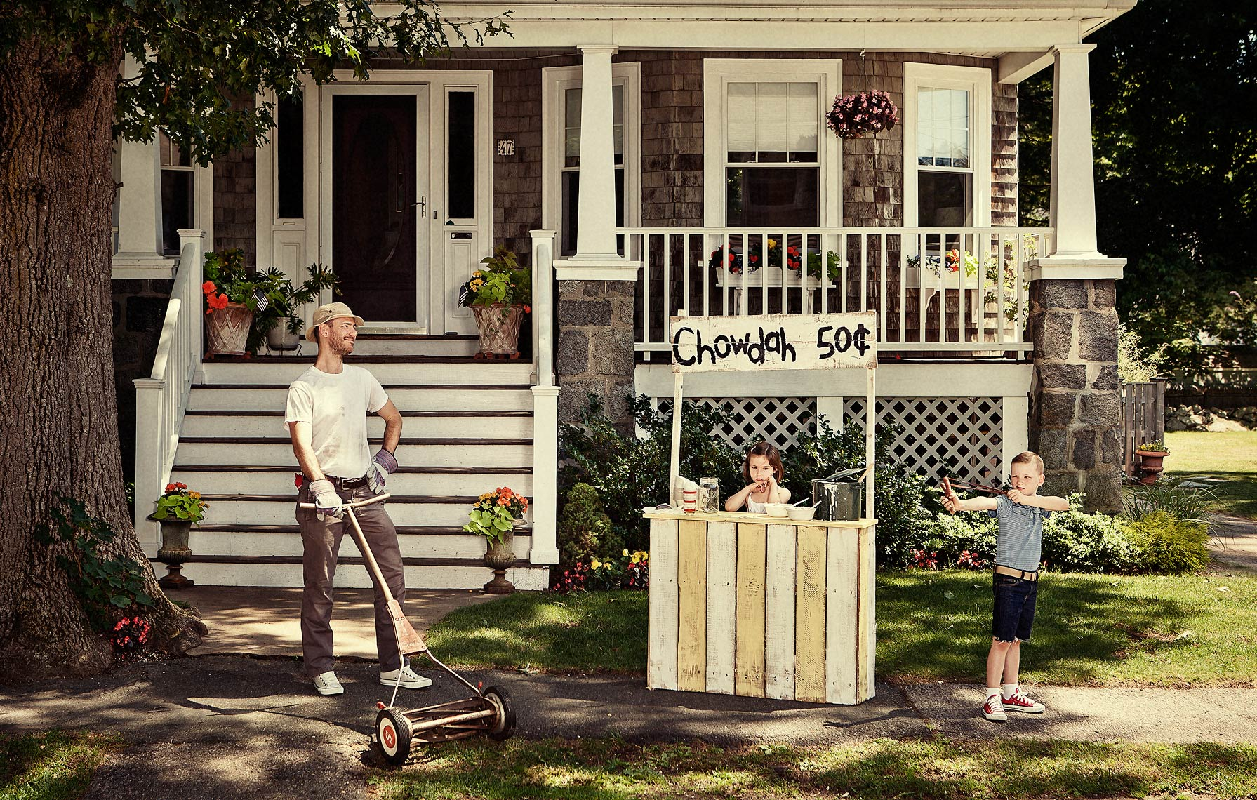 A Norman Rockwell inspired summer in New England - shot for Canon USA