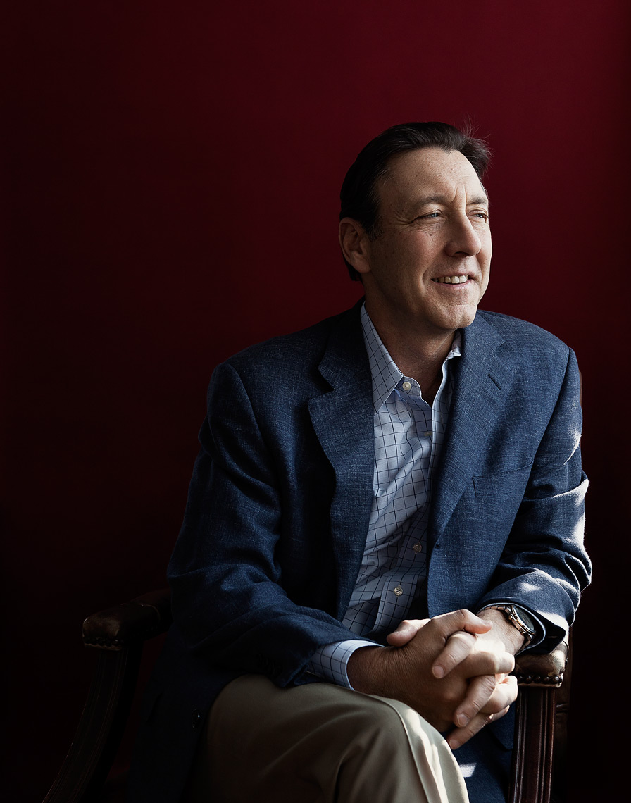 Portrait of former ESPN President George Bodenheimer for Denison Magazine