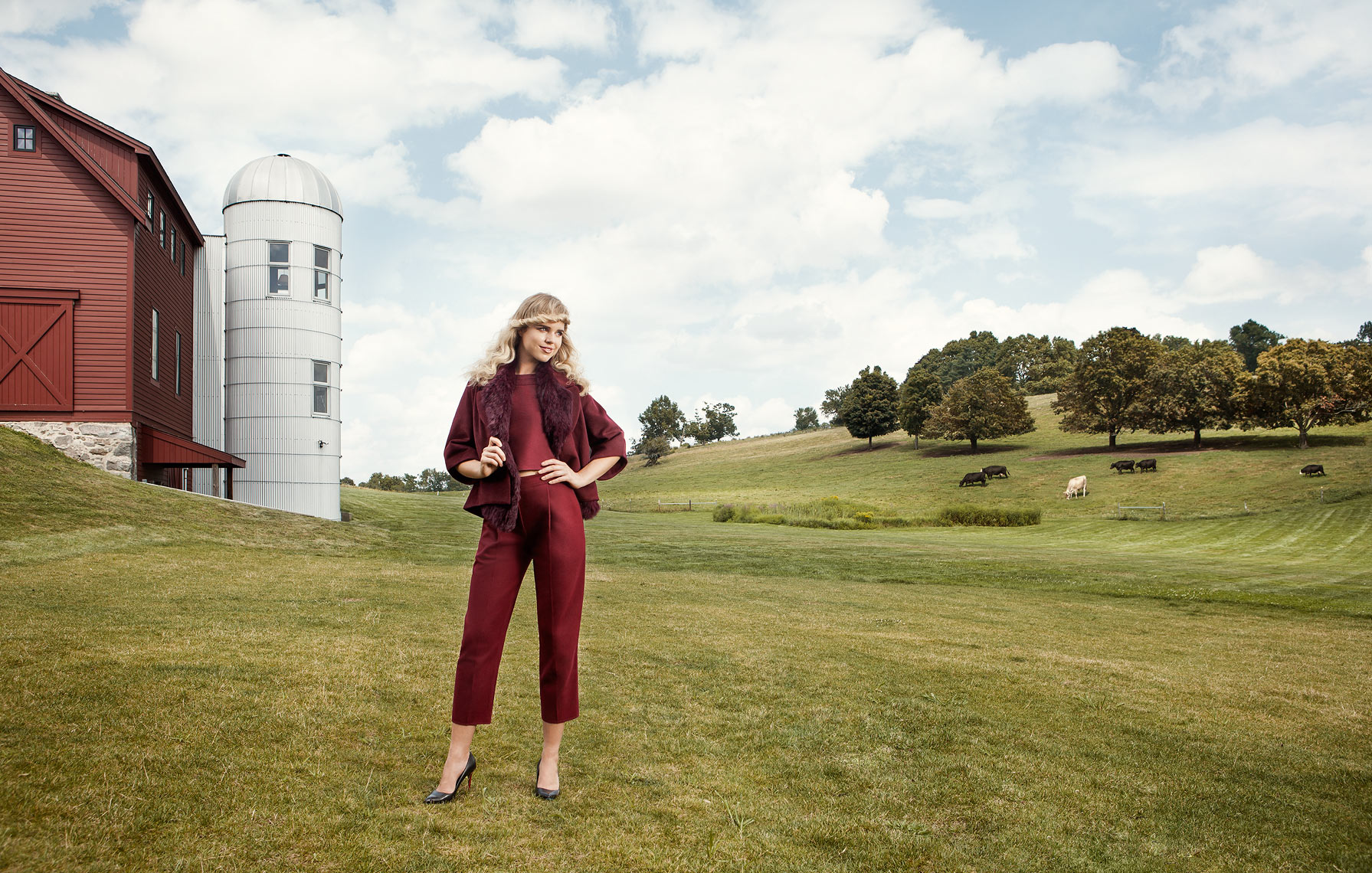 Improper Bostonian Gibbet Hill fall fashion shoot