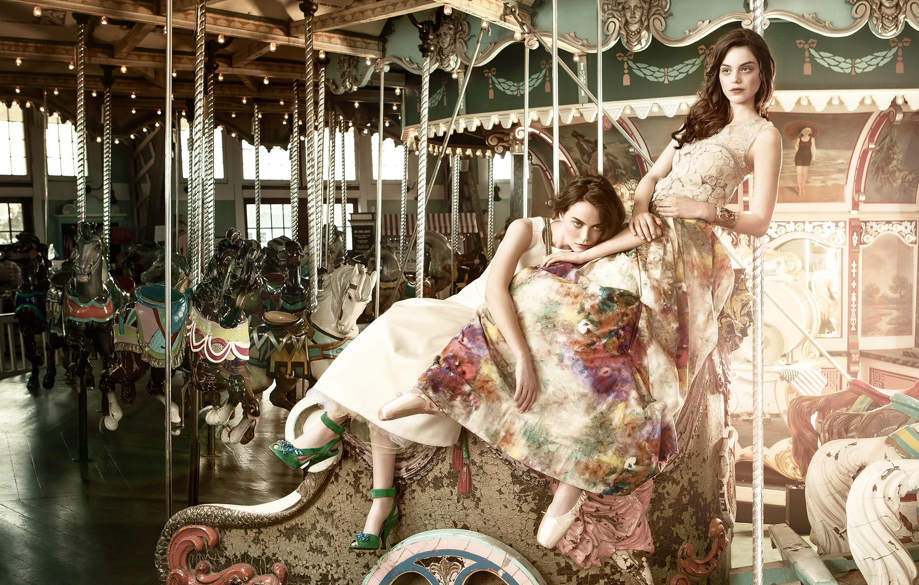 Improper Bostonian Summer Style Issue fashion at Hull MA carousel