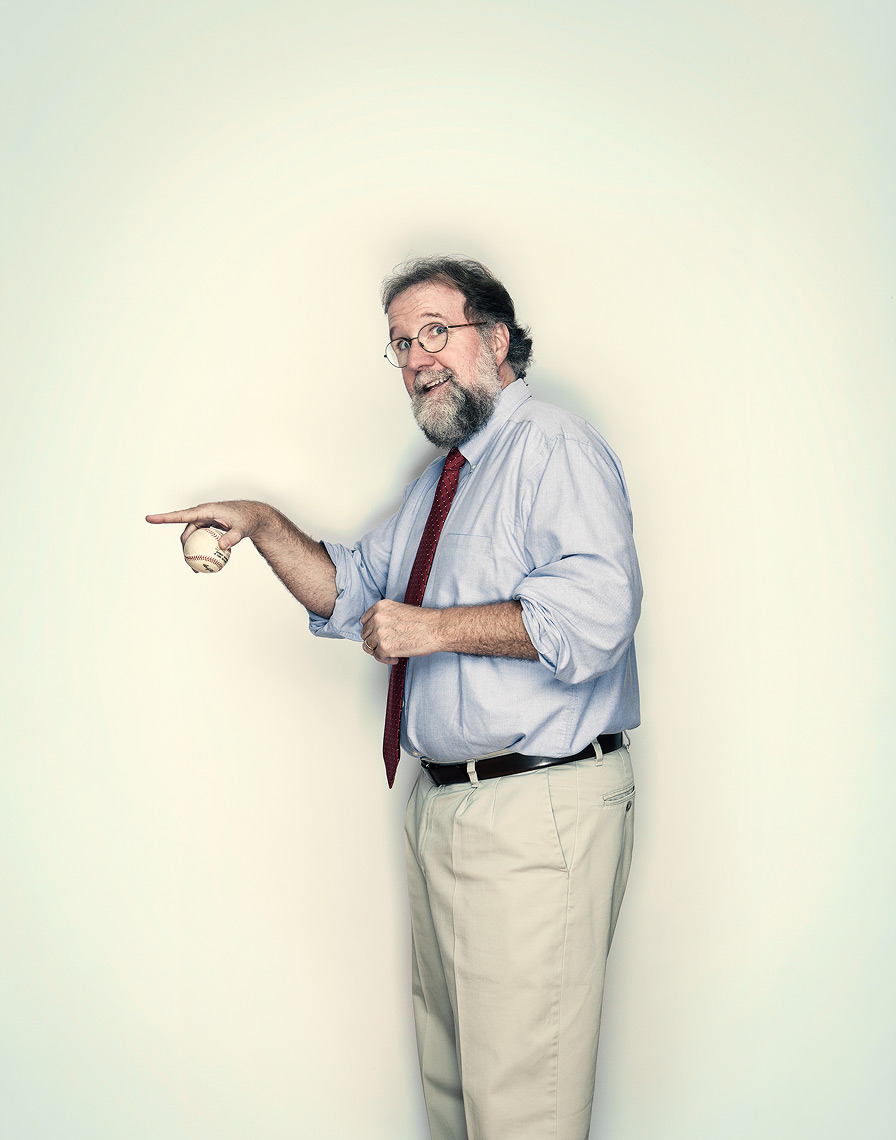University of Wisconsin professor, author, and biologist Sean B. Carroll shot for Wellcome Trust Mosaic Project